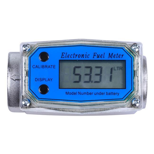 Fuel Flow Meter For Measuring Gasoline Diesel Kerosene Digital Turbine