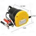 Pumpa pro odsávání oleje 12V 60W