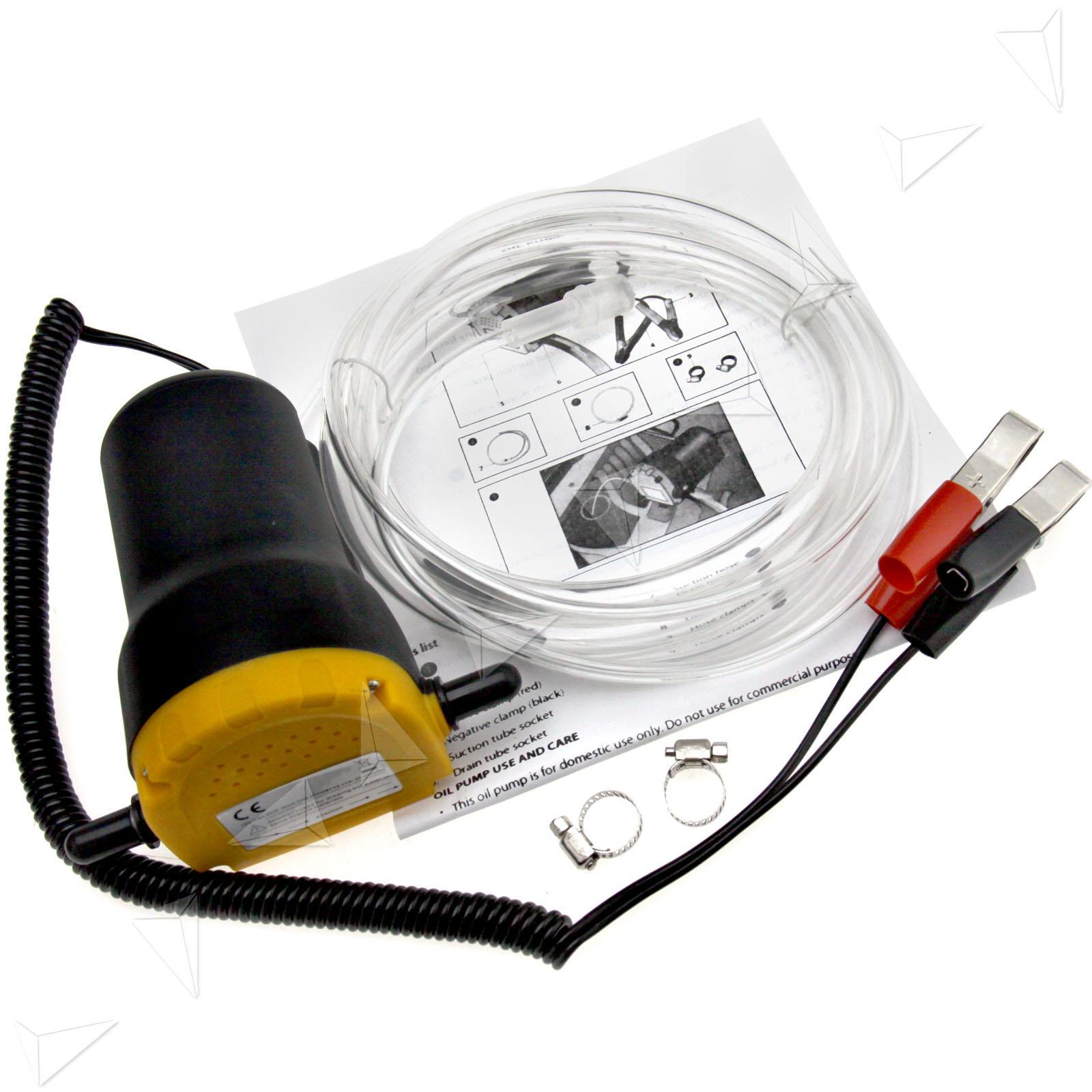 Odsávací pumpa na olej 12V 60W