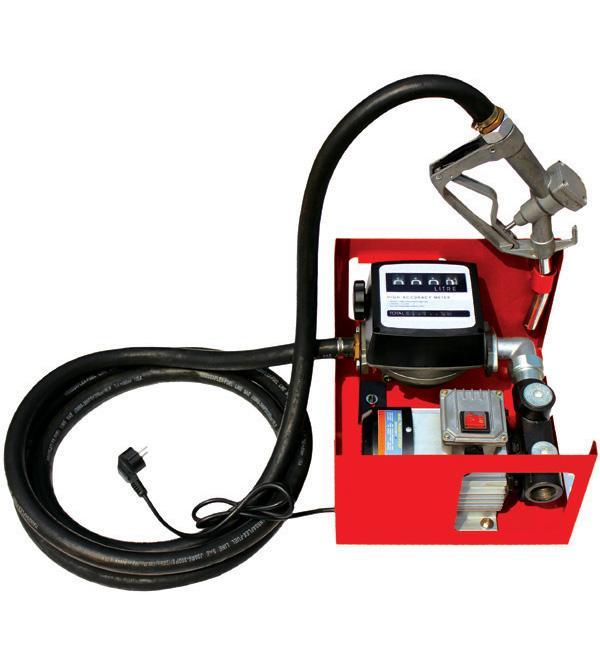 Samonasávací palivové čerpadlo s počítadlem na naftu, olej 230V