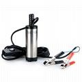 12V 38mm Tauchpumpe Wasserpumpe Transfer Pumpe für Auto KFZ Diesel Öl Heizöl