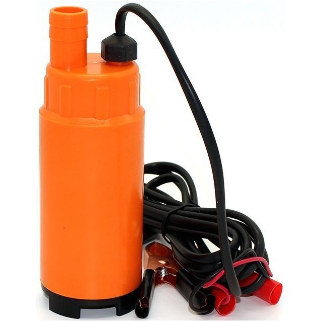 Bomba Submersa Bateria Para Óleo Diesel E Água 12V 30L/Min