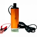 Bomba submersa de transferencia para oleo diesel e agua 12V 30L/Min