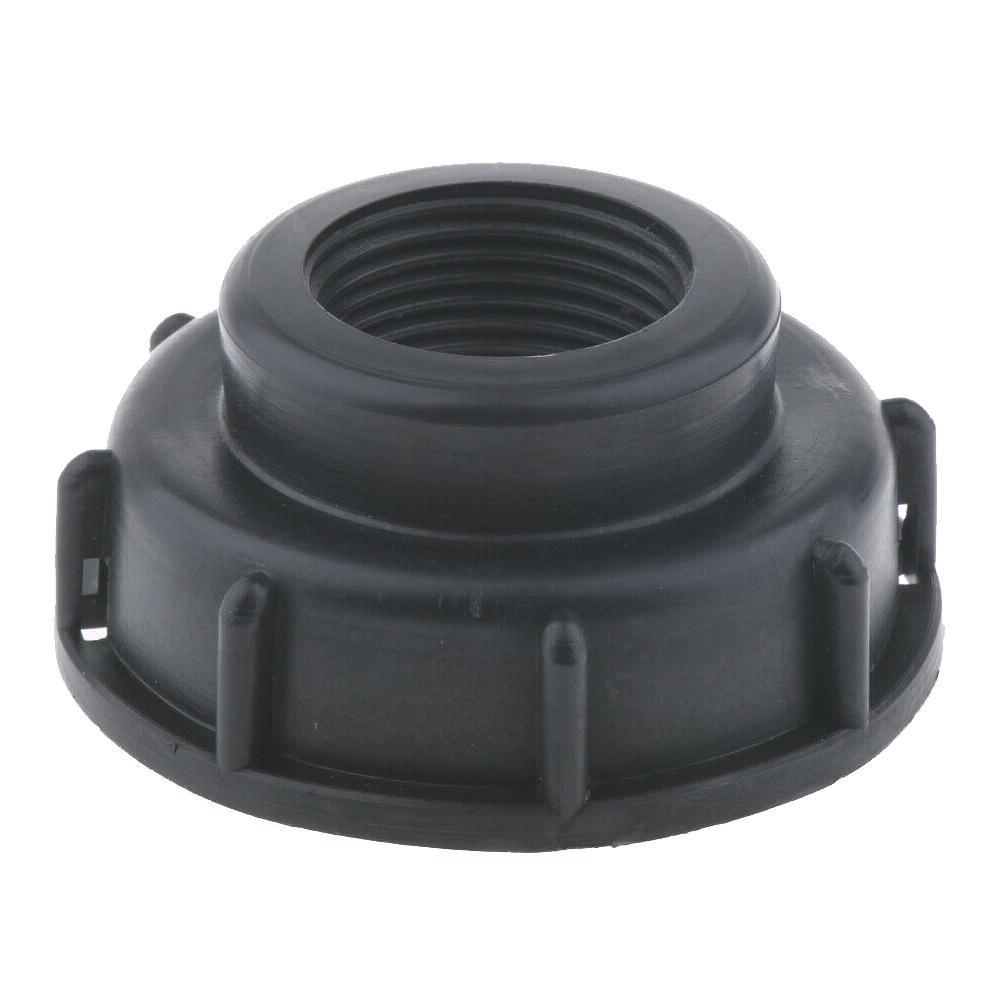 IBC Tote Tank Drain Adapter Threaded Cap Garden Hose Connector 2 Inch