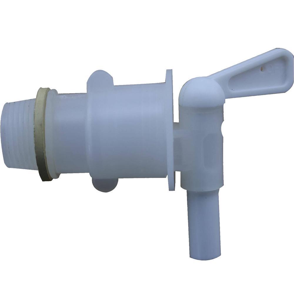 "3/4"" BSP Polyethylene Barrel Tap / PE Pail Faucet"