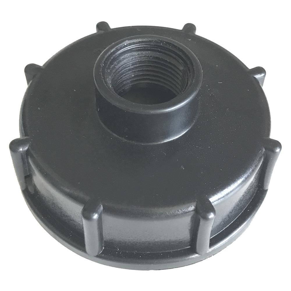 "S60X6 Female to 1/2"" BSP Female IBC Tote Tank Adapter"