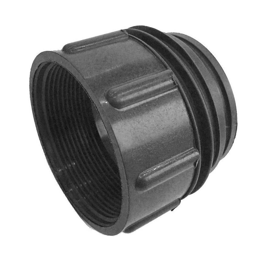 Adaptador para válvula de IBC 1000 rosca fina a gruesa