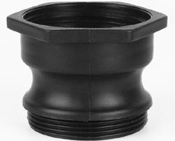 Adaptador para válvula IBC 2'' rosca gruesa a camlock
