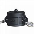 Tapa de seguridad para válvula de IBC camlock 2 pulgadas