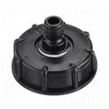 """Adaptateur de réservoir IBC 1000L femelle grossière pour pièces de raccord de valve de remplacement de robinet de filetage de tuyau de 1/2 """" 3/4 """" 1 """""""