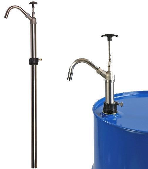 Stainless Steel 55-Gallon Vertical Lift Pump