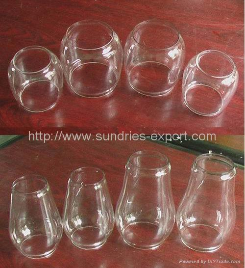 Hurricane Lantern Glass Globes