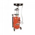 80L Oil Drainer Oil Collect Machine For