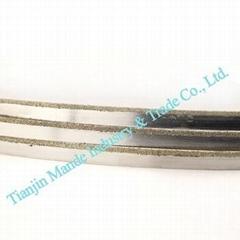 MD6218 Diamond Coated Band Saw Blade Cutting Glass