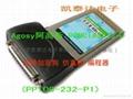 Ah Gaussian notebook serial cards PCMCIA go go RS232 serial port PCMCIA