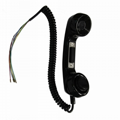Old fixed telephone waterproof ABS material payphone handset
