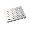 Industrial keypad rs232 illuminated numeric keypad 4x3 matrix backlit keypad 5