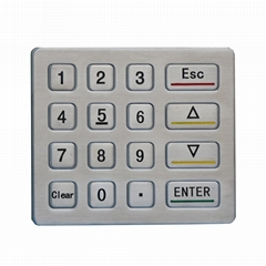 16keys digital metal electronic cabinet lock safe keypad for hotel