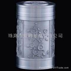 純錫茶葉罐