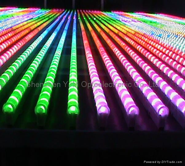 Dmx Led Digital Tube Light Rgb Flexible Led Strip Light