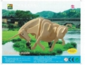 Sell-3d wooden puzzles-animal toy  5