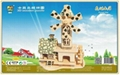Sell-Diy craft house wood awards gifts sovenir diy wooden gifts 6