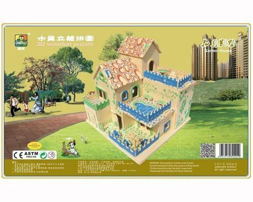 Sell-Diy craft house wood awards gifts sovenir diy wooden gifts 4