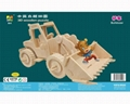 Sell-education new fashion motocycle DIY puzzle wooden toys 2
