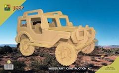 3D Puzzles- jeep