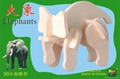 3D wooden puzzles-elephant