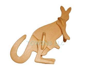 3D wooden puzzles-elephant 5