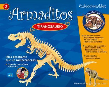 DIY puzzle-tiranosaurus 1