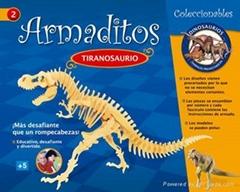 DIY puzzle-tiranosaurus