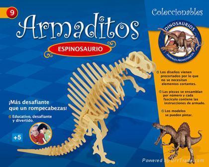 DIY puzzle-tiranosaurus 3