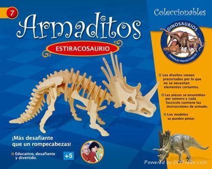 DIY puzzle-tiranosaurus 4