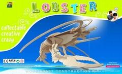 3D puzzles -Lobster