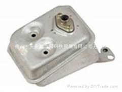 割草机消声器用耐高温SA1D镀铝板