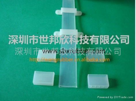 防水性LED硅胶软灯条套管 1