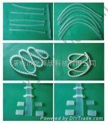 防水性LED硅胶软灯条套管 5
