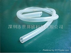 silicone vacuum tube, silicone tubing pipe, size 4*7mm