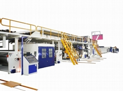 中德合資五層瓦楞紙生產線