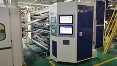PLC控制內抽式單面瓦楞機