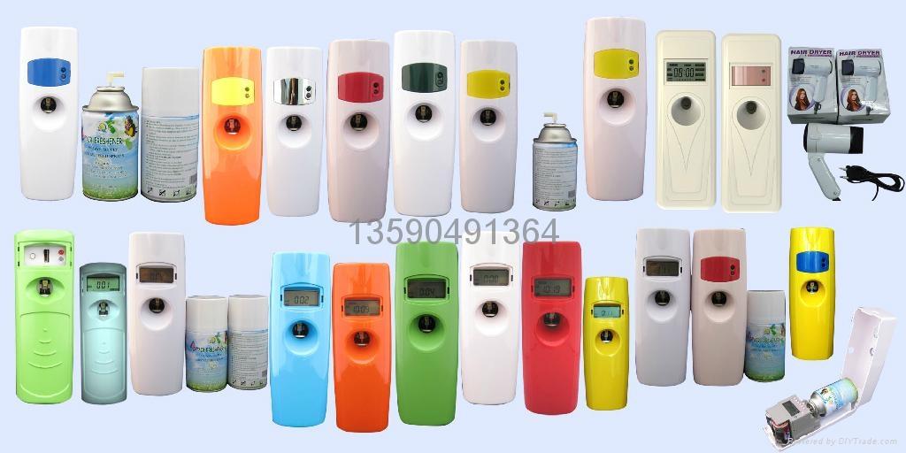 LCD液晶數顯感光LED自動調時光感噴香機 1