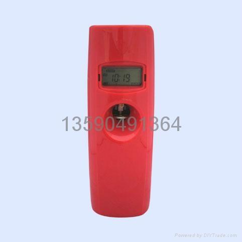 LCD液晶數顯感光LED自動調時光感噴香機 4