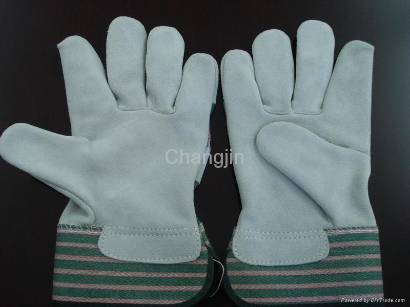 popular style leather safety glove  1