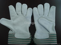 popular style leather safety glove