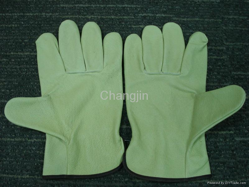 Pig leather driver glove 1