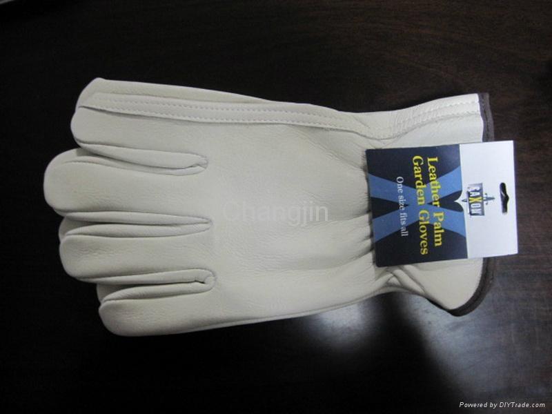 cow grain leather driver glove 1
