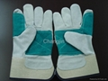 double palm leather working glove 3