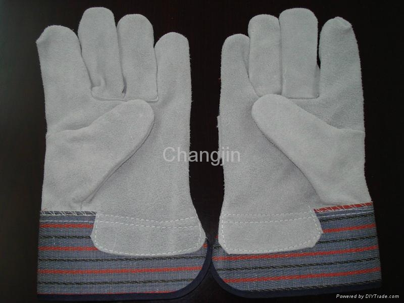full palm leather working glove 2